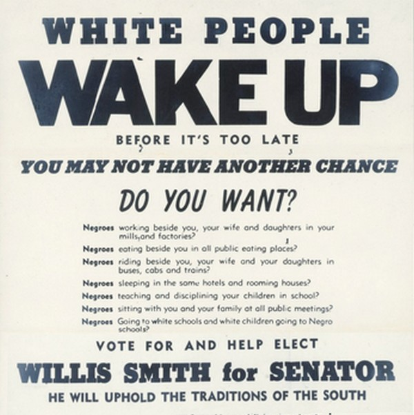 Not anti-Black, justpro-segregation