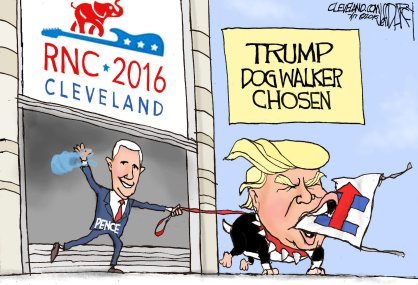 trump walk