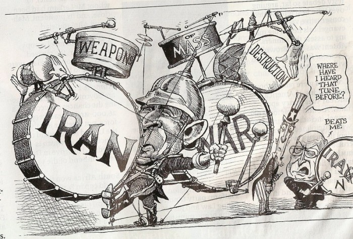 War with Iran…