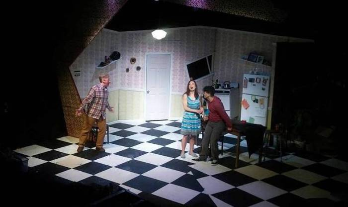 Eclectic Theatre's Fuddy Meers and the great questions of life, like, what do you get when you cross Jerry Lewis with Pee WeeHerman…