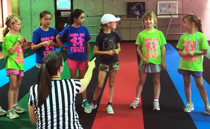 COMEDYSPORTZ CHICAGO AND GAME ON! SPORTS CAMP 4GIRLS